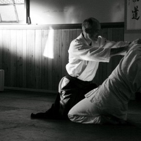 Sensei demonstrating